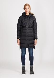 Ws Foxy Lace Down Coat_Black (2)